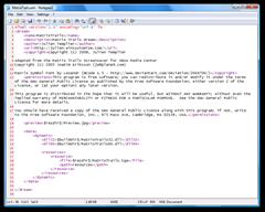 MatrixTrails.xml - Notepad2